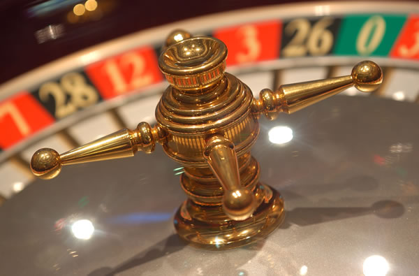 Roulette bord