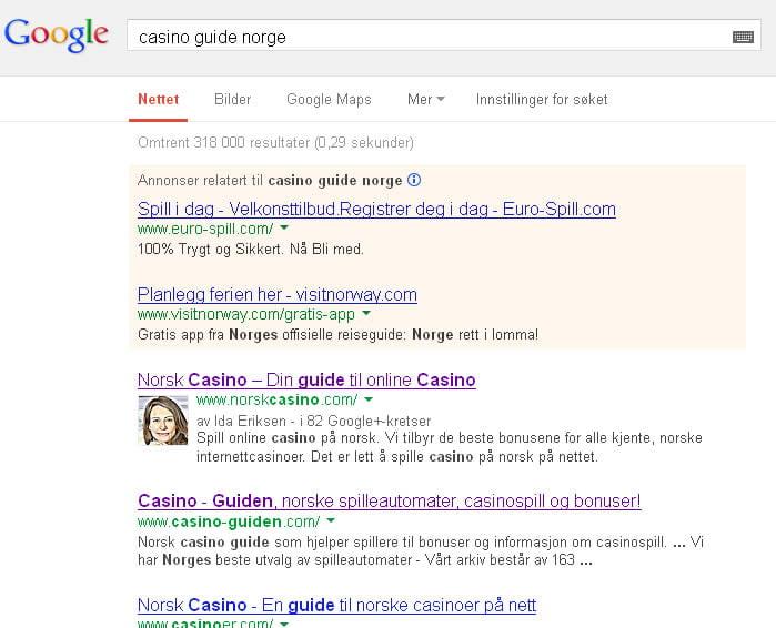casino-google-rangering